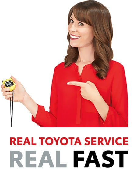 Real toyota service real fast